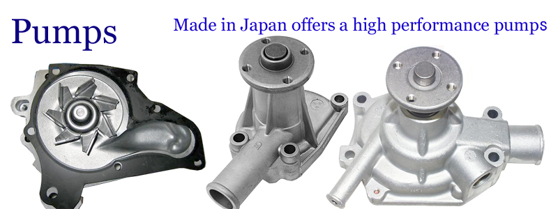 Pumps -- Made in Japan offers a high performance pumps. --