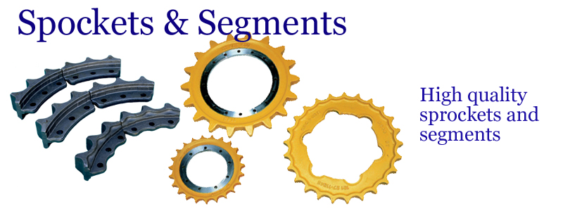 Sprockets & Segments -- High quality sprockets and segments. --